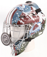 Patrick Roy Signed Colorado Avalanche Goalie Mask (Beckett COA) at PristineAuction.com