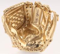 "Pete Rose Signed Rawlings Gold Mini Baseball Glove Inscribed ""1969-70 G.G."" (JSA COA) at PristineAuction.com"