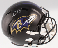 Lamar Jackson Signed Baltimore Ravens Full-Size Speed Helmet (JSA COA) at PristineAuction.com