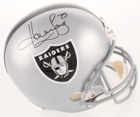 Howie Long Signed Oakland Raiders Full-Size Helmet (JSA COA) at PristineAuction.com