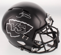 Tyreek Hill Signed Kansas City Chiefs Matte Black Full-Size Speed Helmet (JSA COA) at PristineAuction.com