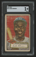 1952 Topps #312 Jackie Robinson (SGC 1) at PristineAuction.com