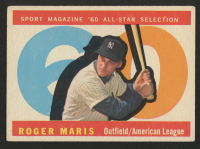 1960 Topps #565 Roger Maris All-Star at PristineAuction.com