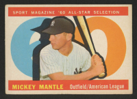 1960 Topps #563 Mickey Mantle All-Star at PristineAuction.com