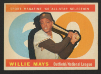 1960 Topps #564 Willie Mays All-Star at PristineAuction.com