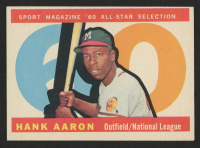 1960 Topps #566 Hank Aaron All-Star at PristineAuction.com