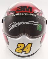Jeff Gordon Signed NASCAR 3M 1:3 Scale Mini-Helmet (Gordon Hologram) at PristineAuction.com