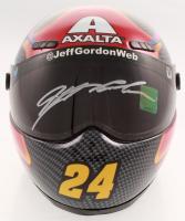 Jeff Gordon Signed NASCAR Axalta 1:3 Scale Mini-Helmet (Gordon Hologram) at PristineAuction.com
