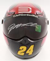 Jeff Gordon Signed NASCAR AARP/DTEH 1:3 Scale Mini-Helmet (Gordon Hologram) at PristineAuction.com