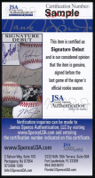 Fernando Tatis Jr. Signed Rawlings Pro Baseball Bat (JSA COA) at PristineAuction.com