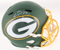 Davante Adams Signed Green Bay Packers Full-Size AMP Alternate Speed Helmet (JSA COA) at PristineAuction.com