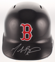 Mookie Betts Signed Boston Red Sox Batting Helmet (MLB Hologram & Fanatics Hologram) at PristineAuction.com