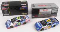 Lot of (2) Jimmie Johnson LE 1:24 Scale Die Cast Cars with #48 Lowe's Power of Pride 2002 Monte Carlo & #48 Lowe's 2002 Monte Carlo at PristineAuction.com