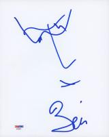 Bono Signed 8x10 Hand-Drawn Sketch (PSA COA) at PristineAuction.com