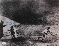"Mickey Owen & Tommy Henrich Signed 11x14 Photo Inscribed ""Oct. 5th 1941"" (JSA COA) at PristineAuction.com"