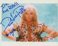 """David Lee Roth Signed 8x10 Photo Inscribed """"Ira, Awe Right!!"""" & """"1991"""" (PSA COA) at PristineAuction.com"""