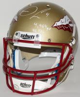 "Dalvin Cook Signed Florida State Seminoles Full-Size Helmet Inscribed ""4,464 YD"" & ""46 TD's"" (JSA COA) at PristineAuction.com"
