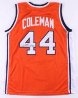 Derrick Coleman Signed Jersey (JSA COA) at PristineAuction.com