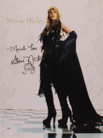 "Stevie Nicks Signed 16x24 Poster Inscribed ""Much Love"" (PSA COA) at PristineAuction.com"
