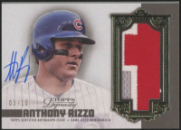 Anthony Rizzo 2019 Topps Dynasty Autograph Patches #APARI at PristineAuction.com