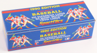 1990 Sportflics Complete Set of (225) Baseball Cards & (153) Magic Motion Trivia Cards at PristineAuction.com
