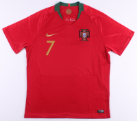Cristiano Ronaldo Signed Portugal Jersey (Beckett COA) at PristineAuction.com