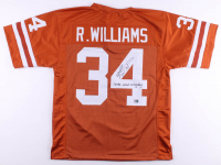 """Ricky Williams Signed Jersey Inscribed """"Smoke Weed Everyday!"""" (JSA COA & Williams Hologram) at PristineAuction.com"""
