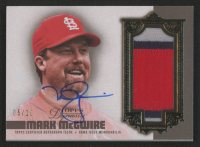 Mark McGwire 2019 Topps Dynasty Autograph Patches #APMM2 at PristineAuction.com