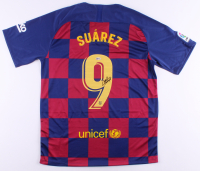 Luis Suarez Signed Barcelona Jersey (Beckett COA) at PristineAuction.com