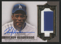 Rickey Henderson 2019 Topps Dynasty Autograph Patches #APRH2 at PristineAuction.com