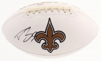 Drew Brees Signed New Orleans Saints Logo Football (PSA COA) at PristineAuction.com