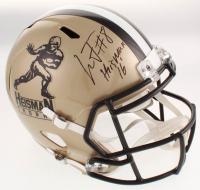 """Lamar Jackson Signed Heisman Trophy Full-Size Speed Helmet Inscribed """"Heisman 16"""" (JSA Hologram) at PristineAuction.com"""