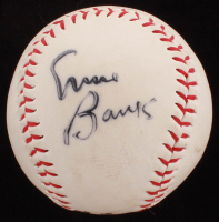 Ernie Banks Signed OL Baseball (JSA COA) at PristineAuction.com