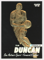 1998 Fleer 23 KT Gold Card Tim Duncan at PristineAuction.com
