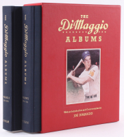 "Joe DiMaggio Signed ""The DiMaggio Albums: Volumes 1 & 2"" Hardcover Book Set Sleeve (Beckett LOA) at PristineAuction.com"