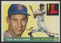 1955 Topps #2 Ted Williams at PristineAuction.com