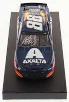 Alex Bowman Signed NASCAR #88 Axalta 2019 Camaro - 1:24 Premium Action Diecast Car (Hendrick Hologram & COA) at PristineAuction.com