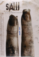 "Tobin Bell Signed ""Saw 3"" 27.5x39.5 Movie Poster Inscribed ""Jigsaw"" (JSA Hologram) at PristineAuction.com"