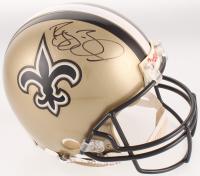 Reggie Bush Signed New Orleans Saints Full-Size Authentic On-Field Helmet (Mounted Memories COA & Bush Hologram) at PristineAuction.com