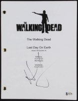 """Andrew Lincoln Signed """"The Walking Dead: Last Day on Earth"""" Episode Script (Beckett COA) at PristineAuction.com"""