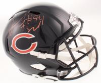 Leonard Floyd Signed Chicago Bears Full-Size Speed Helmet (JSA COA) at PristineAuction.com
