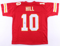 Tyreek Hill Signed Jersey (Beckett COA) at PristineAuction.com