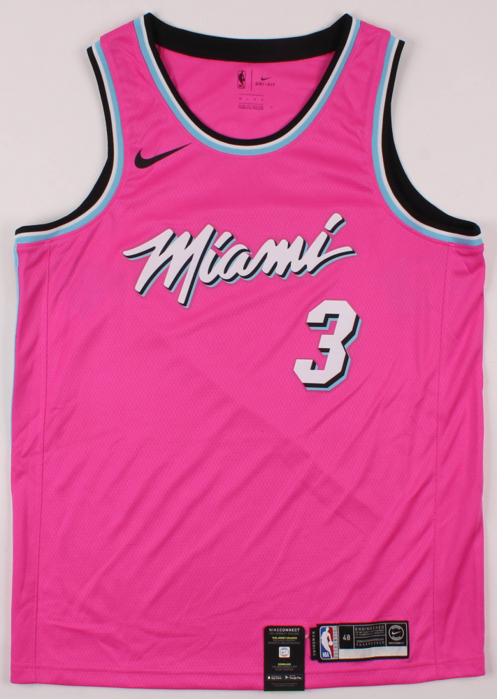 Dwyane Wade Signed Miami Heat Jersey Jsa Coa Pristine Auction