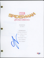"Laura Harrier Signed ""Spider-Man: Homecoming"" Movie Script (PSA COA) at PristineAuction.com"