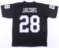 Josh Jacobs Signed Jersey (Beckett COA) at PristineAuction.com