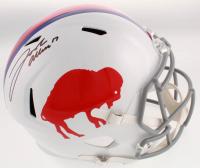 Josh Allen Signed Buffalo Bills Full-Size Speed Helmet (Beckett COA) at PristineAuction.com