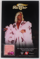 Ric Flair WWE 4x6 Robe Piece Display at PristineAuction.com