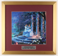 "Thomas Kinkade Walt Disney's ""Cinderella"" 17.5x18 Custom Framed Print Display at PristineAuction.com"