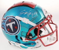 Eddie George Signed Tennessee Titans Full-Size Hydro-Dipped F7 Helmet (Beckett COA) at PristineAuction.com