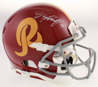 Dwayne Haskins Signed Washington Redskins Full-Size Helmet (JSA COA) at PristineAuction.com